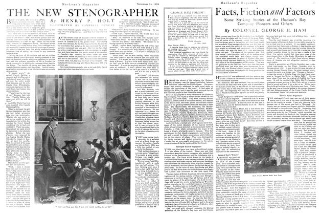 Article Preview: THE NEW STENOGRAPHER, NOVEMBER 15TH 1920 1920 | Maclean's