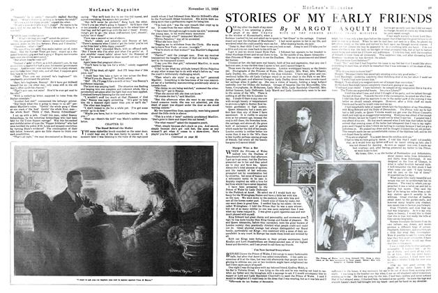 Article Preview: STORIES OF MY EARLY FRIENDS, NOVEMBER 15TH 1920 1920 | Maclean's