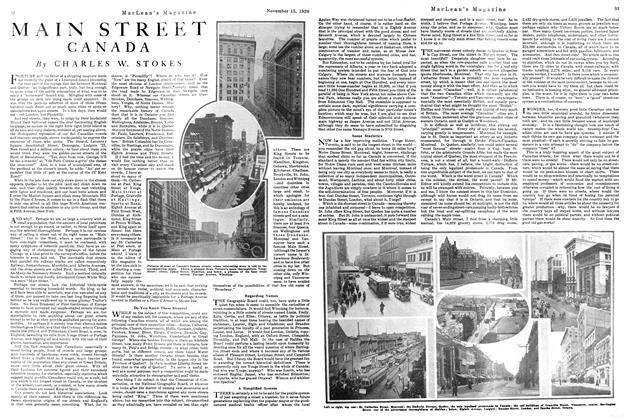 Article Preview: MAIN STREET CANADA, NOVEMBER 15TH 1920 1920 | Maclean's