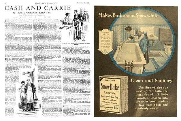 Article Preview: CASH AND CARRIE, NOVEMBER 15TH 1920 1920 | Maclean's