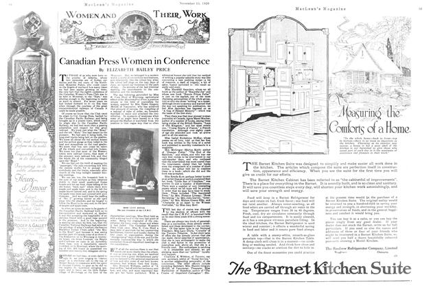 Article Preview: Canadian Press Women in Conference, NOVEMBER 15TH 1920 1920 | Maclean's
