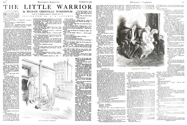 Article Preview: THE LITTLE WARRIOR, NOVEMBER 15TH 1920 1920 | Maclean's