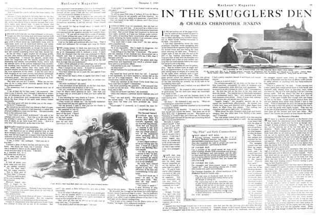 Article Preview: IN THE SMUGGLERS' DEN, December 1920 | Maclean's