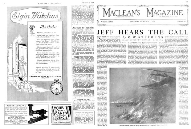 Article Preview: JEFF HEARS THE CALL, December 1920 | Maclean's