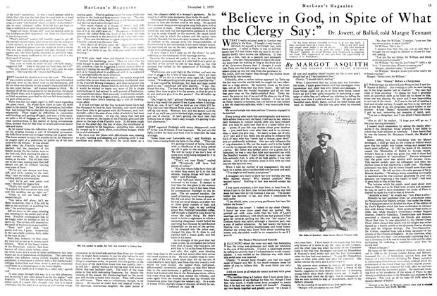 "Article Preview: ""Believe in God, in Spite of What the Clergy Say:"", December 1920 