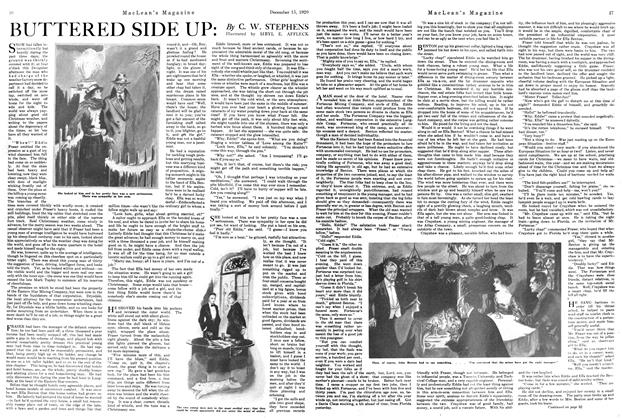 Article Preview: BUTTERED SIDE UP, December 1920 | Maclean's