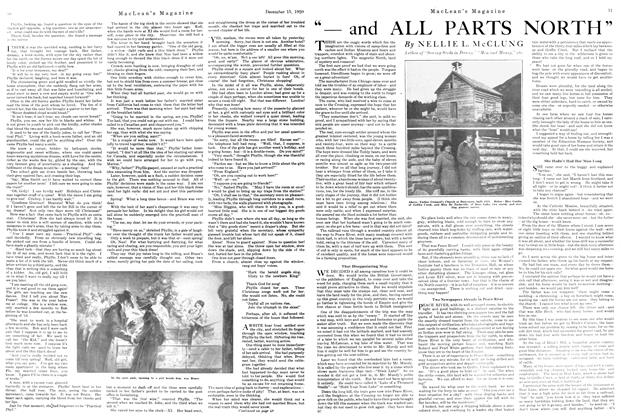 "Article Preview: ""—and ALL PARTS NORTH"", December 1920 