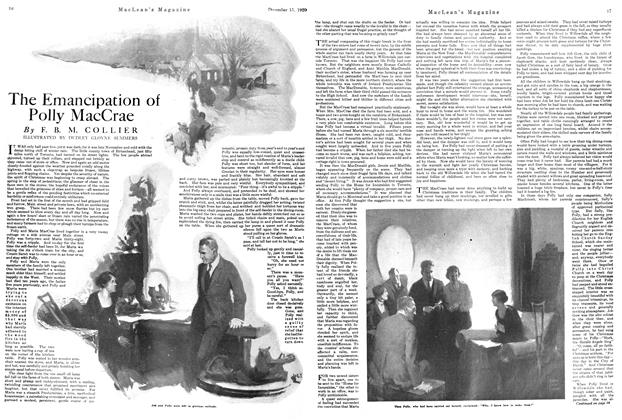 Article Preview: The Emancipation of Polly MacCrae, December 1920 | Maclean's