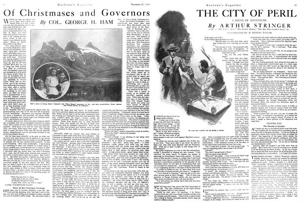 Article Preview: THE CITY OF PERIL, December 1920 | Maclean's