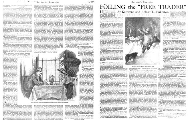 "Article Preview: FOILING the ""FREE TRADER"", January 1921 