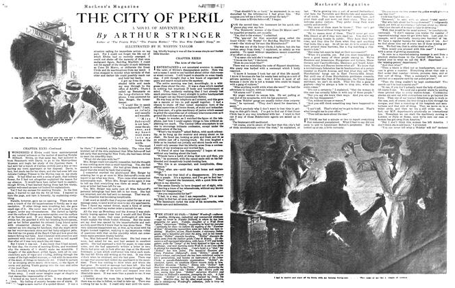 Article Preview: THE CITY OF PERIL, January 1921 | Maclean's