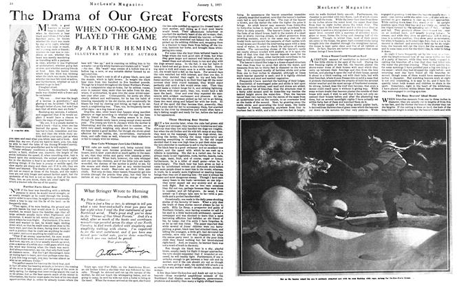 Article Preview: The Drama of Our Great Forests, January 1921 | Maclean's