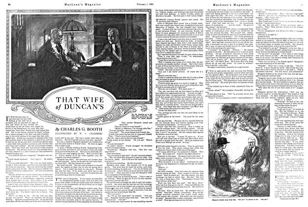 Article Preview: THAT WIFE of DUNCAN'S, February 1st, 1921 1921 | Maclean's