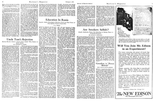 Article Preview: Education In Russia, February 1st, 1921 1921   Maclean's