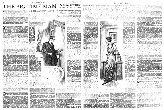 Article Preview: THE BIG TIME MAN, February 1st, 1921 1921 | Maclean's
