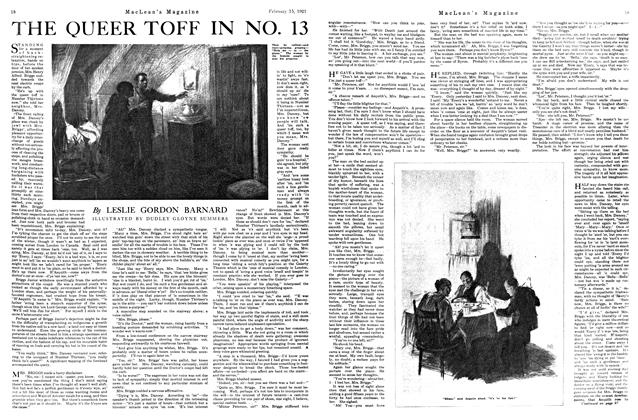 Article Preview: THE QUEER TOFF IN NO. 13, FEBRUARY 15TH 1921 | Maclean's