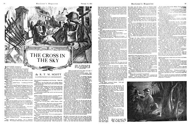 Article Preview: THE CROSS IN THE SKY, FEBRUARY 15TH 1921 | Maclean's