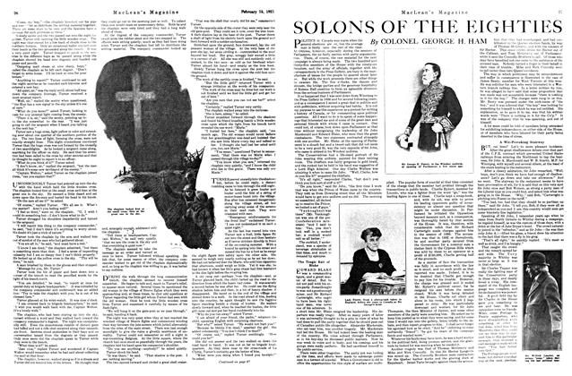 Article Preview: SOLONS OF THE EIGHTIES, FEBRUARY 15TH 1921 | Maclean's