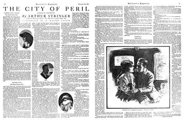 Article Preview: THE CITY OF PERIL, FEBRUARY 15TH 1921 | Maclean's