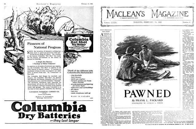 Article Preview: PAWNED, FEBRUARY 15TH 1921 | Maclean's