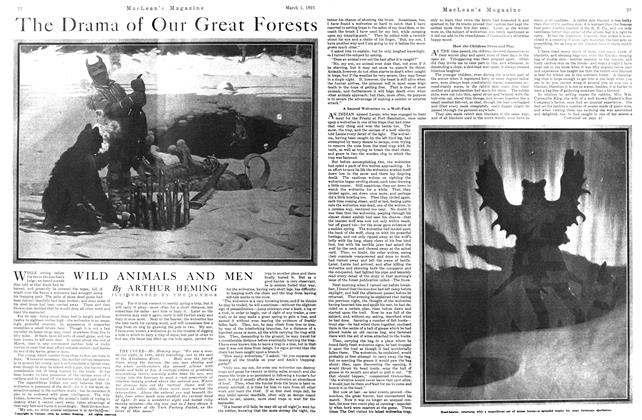 Article Preview: The Drama of Our Great Forests, March 1921 | Maclean's