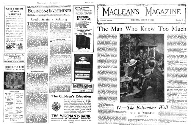 Article Preview: The Man Who Knew Too Much, March 1921 | Maclean's