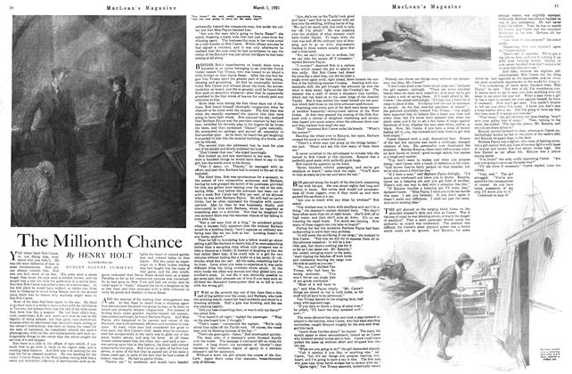 Article Preview: The Millionth Chance, March 1921 | Maclean's