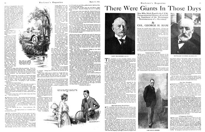 Article Preview: There Were Giants In Those Days, March 1921 | Maclean's