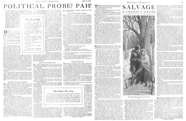 Article Preview: SALVAGE, April 1921 | Maclean's