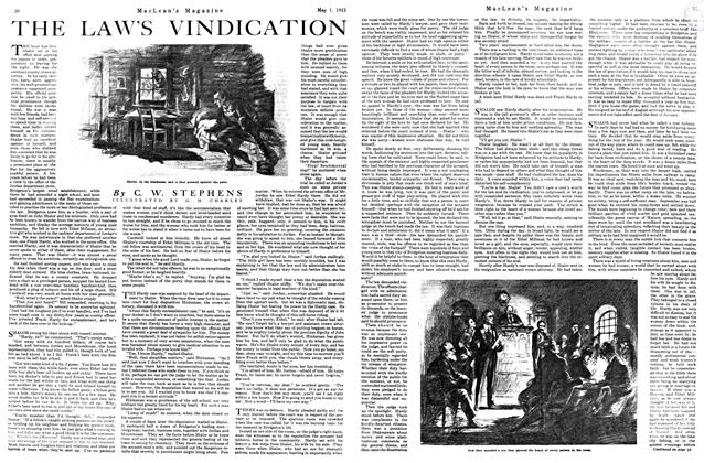 Article Preview: THE LAW'S VINDICATION, MAY 1st, 1921 1921 | Maclean's