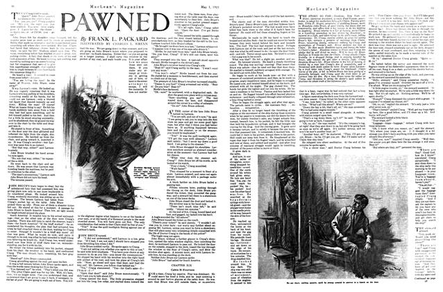 Article Preview: PAWNED, MAY 1st, 1921 1921 | Maclean's