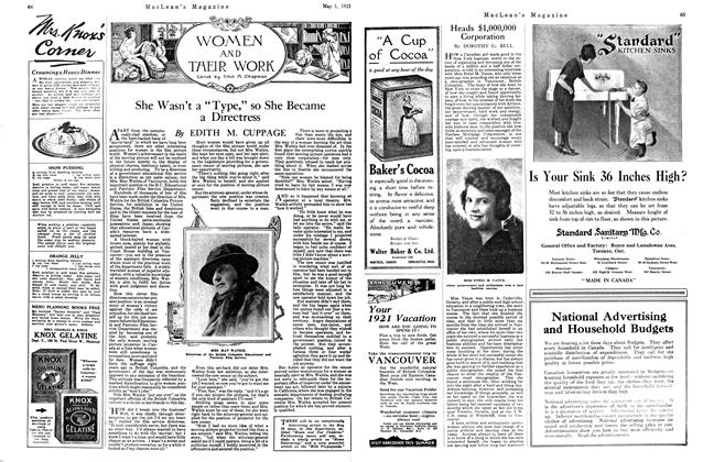 Article Preview: Heads $1,000,000 Corporation, MAY 1st, 1921 1921 | Maclean's