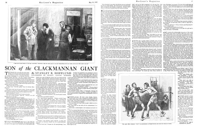 Article Preview: SON of the CLACKMANNAN GIANT, May 1921 | Maclean's
