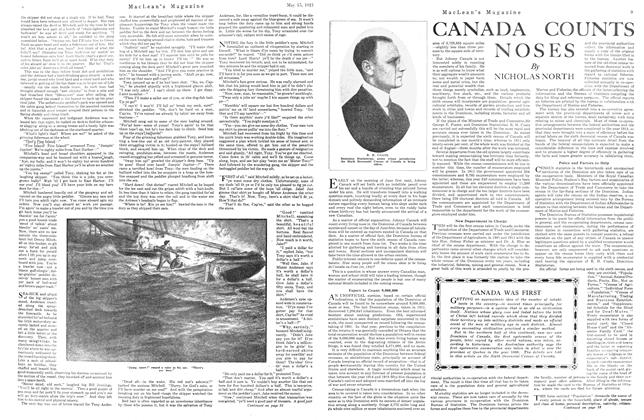 Article Preview: CANADA COUNTS NOSES, May 1921 | Maclean's