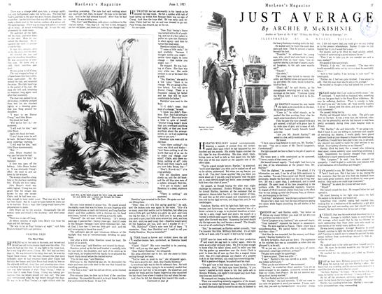 Article Preview: JUST AVERAGE, JUNE 1st, 1921 1921 | Maclean's