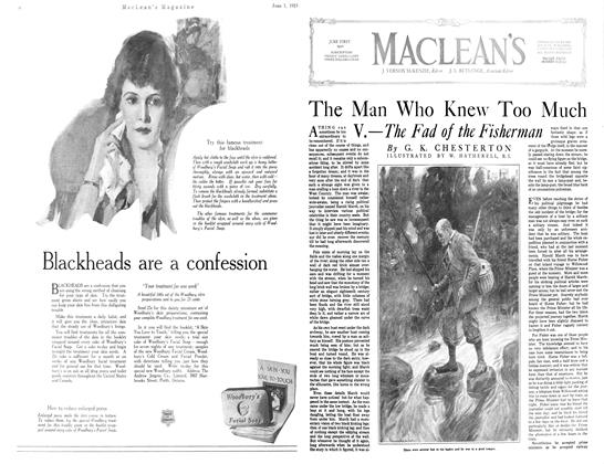 Article Preview: The Man Who Knew Too Much, JUNE 1st, 1921 1921 | Maclean's