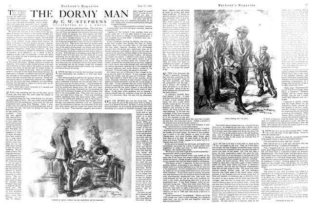 Article Preview: THE DORMY MAN, June 1921 | Maclean's