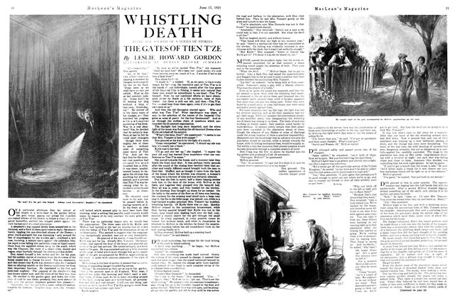 Article Preview: WHISTLING DEATH, June 1921 | Maclean's