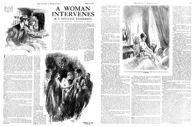 Article Preview: A WOMAN INTERVENES, June 1921 | Maclean's