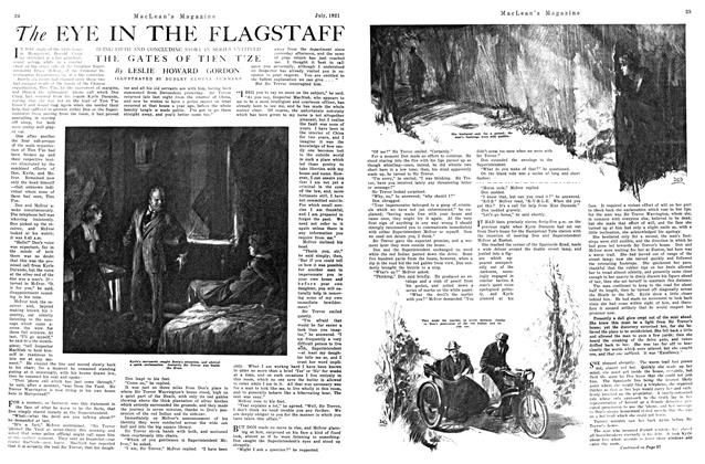 Article Preview: The EYE IN THE FLAGSTAFF, July 1921 | Maclean's