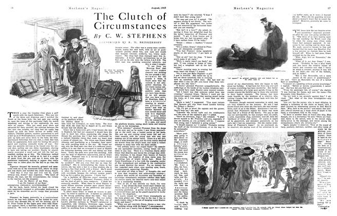 Article Preview: The Clutch of Circu mstances, August 1921 | Maclean's