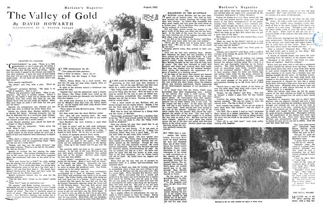 Article Preview: The Valley of Gold, August 1921 | Maclean's