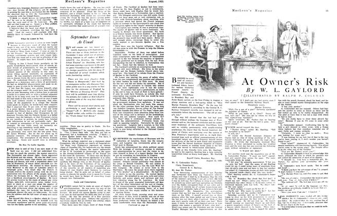 Article Preview: At Owner's Risk, August 1921 | Maclean's