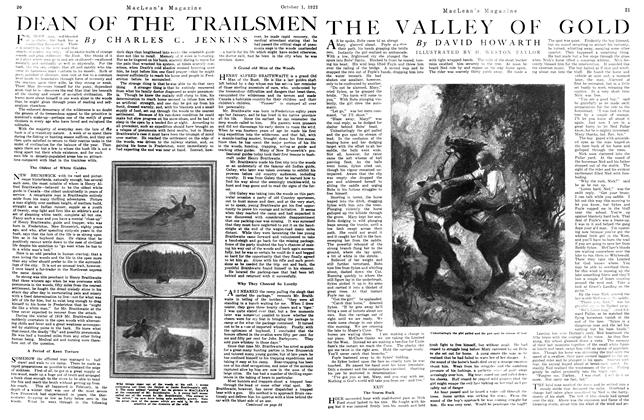 Article Preview: DEAN OF THE TRAILSMEN, October 1st, 1921 1921 | Maclean's