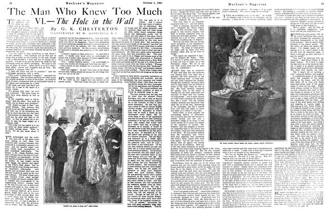 Article Preview: The Man Who Knew Too Much, October 1st, 1921 1921 | Maclean's