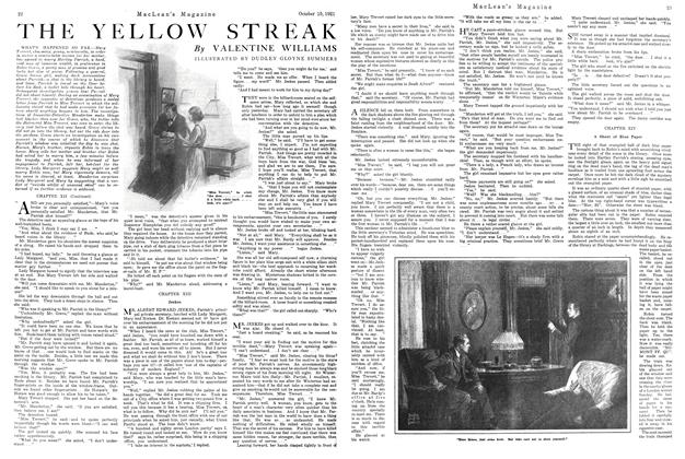 Article Preview: THE YELLOW STREAK, October 1921 | Maclean's