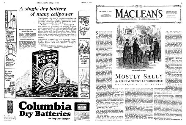 Article Preview: MOSTLY SALLY, October 1921 | Maclean's