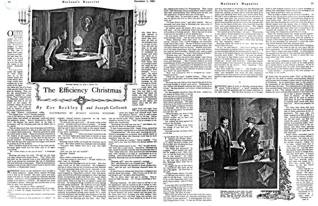 Article Preview: The Efficiency Christmas, December 1921 | Maclean's