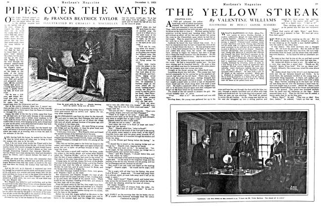 Article Preview: PIPES OVER THE WATER, December 1921 | Maclean's