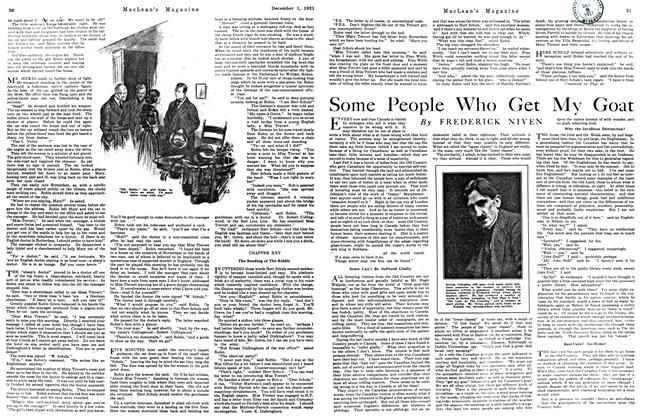 Article Preview: Some People Who Get My Goat, December 1921 | Maclean's